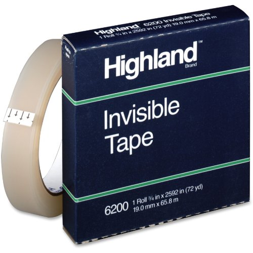 3M Transparent and Invisible Tapes (MMM6200342592)