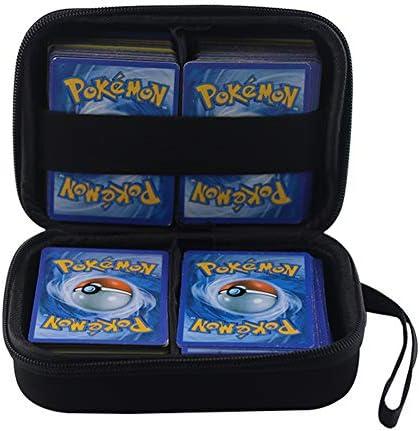 Anter Hard Carry Hülle für Pokemon Trading Cards (Black A)