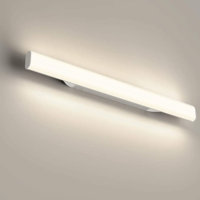 30 opinioni per 12W 1200lm 44cm LED lampada da specchio, per trucco, Bianco neutro 4000 K,