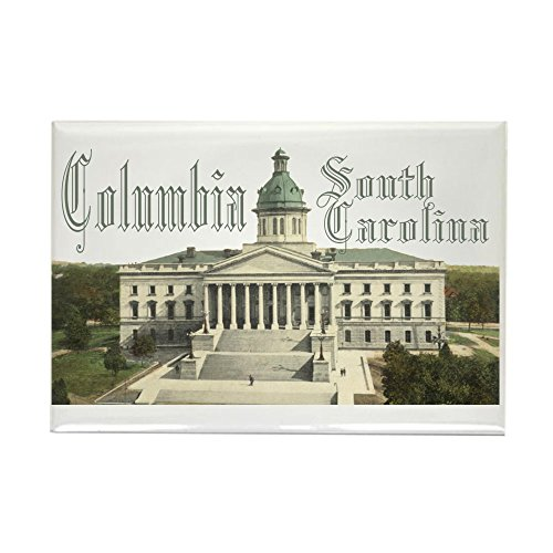 CafePress Columbia State House Rectangle Magnet, 2