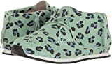 AKID Brand Baby Girl's Stone (Toddler/Little Kid/Big Kid) Mint Leopard Athletic Shoe