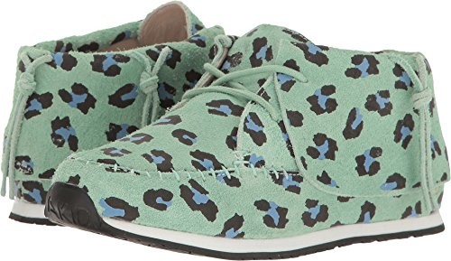 AKID Brand Baby Girl's Stone (Toddler/Little Kid/Big Kid) Mint Leopard Athletic Shoe by AKID