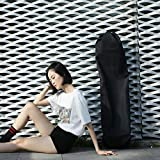 Vaorwne 110Cm Long Skateboard Bag Oxford Cloth