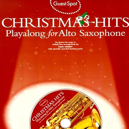 Tracks Saxophone Backing (Playalong for Alto Saxophone: Christmas Hits)