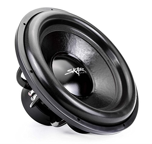"Skar Audio EVL-18 D4 18"" 2500 Watt Max Power Dual 4 Ohm C..."