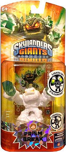 Skylanders GIANTS Exclusive Lightcore Figure Pack WHITE FLOCKED Prism Break [Limited Edition] by Skylanders Giants Toys, Games & Mini Action Figures