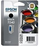 Epson T040 Cartouche d'encre d'origine Noire pour Stylus C62 CX3200