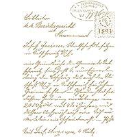 TODO STENCIL Deco Composición 231 Carta, Medidas: Stencil