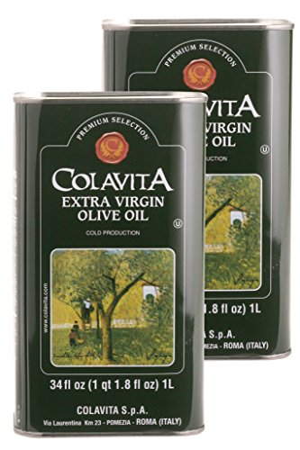 Colavita Extra Virgin Olive Oil, 34-Ounce Tins (Pack of 2) by Colavita (Image #2)