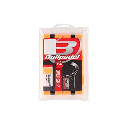 Bull padel OVERGRIP BULLPADEL Pack 12 UNDS BG-1600 Naranja ...