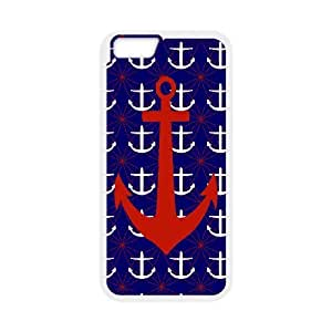 """Retro Vintage Anchor Chevron Pattern Productive Back Phone Case For Apple Iphone 6,4.7"""" screen Cases -Pattern-16"""