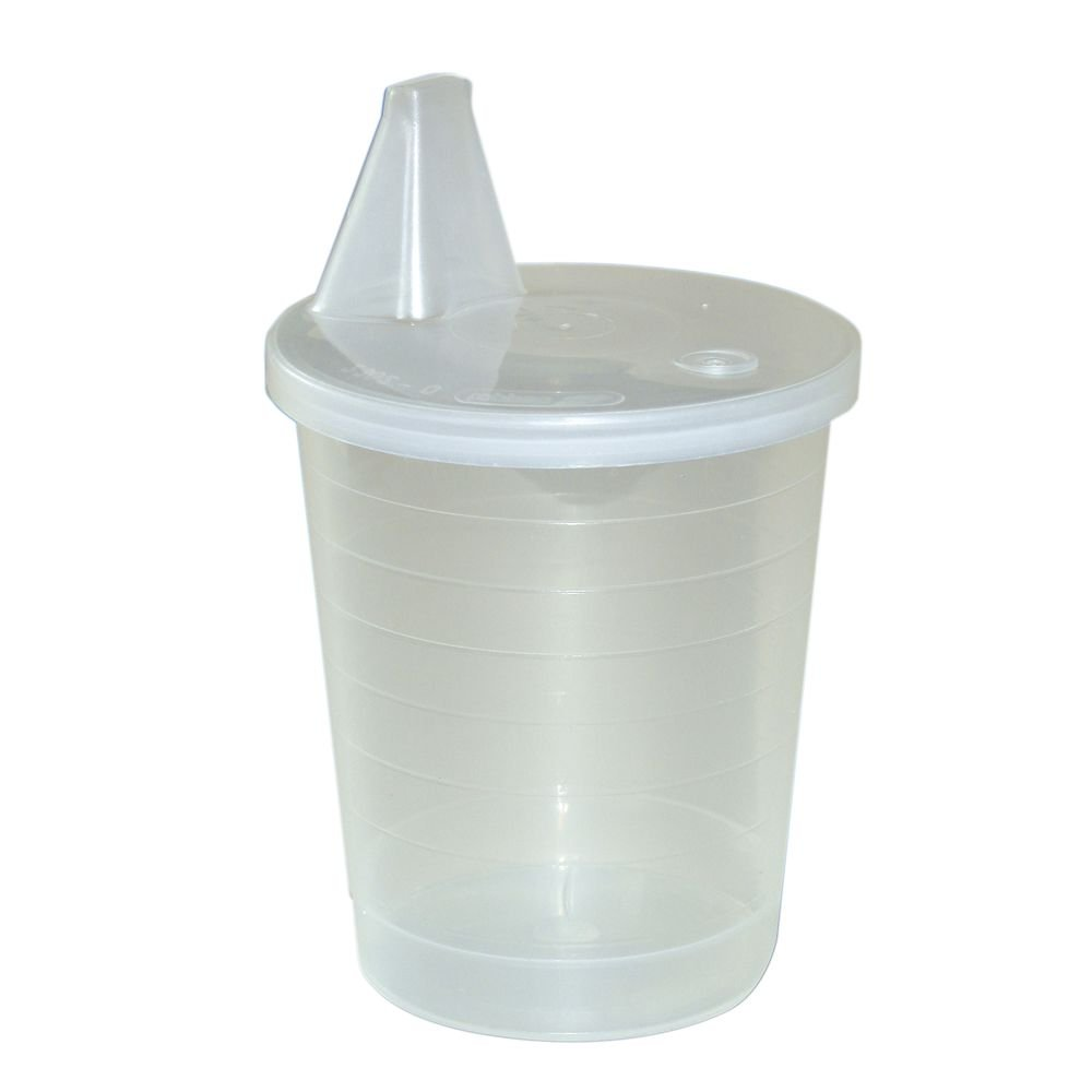 Maddak Ableware 6 4/5 Oz Translucent Polypropylene Single Use Disposable Cup - 2 13/16 Dia x 4 5/16 H by MADDAK DBA SP ABLEWARE