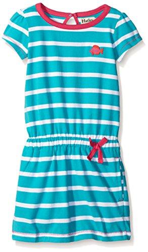 Hatley Little Girls Tropical Ocean Striped