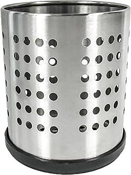 Cubiertos Escurridor soporte H14 cm de acero inoxidable & # X2300; 12 cm de alta
