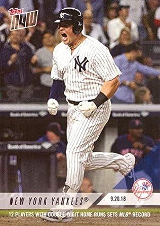 67a7b28ce 2018 Topps Now #754 Luke Voit New York Yankees Baseball Card - Only 681 made