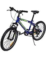"""Spartan 20"""" Vulcan Mountain Bicycle MTB - Blue"""