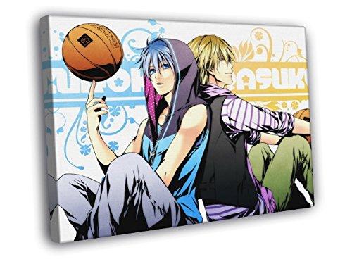 H3V6072 Kuroko no Basuke Kise Ryouta Kuroko Tetsuya Kuroko's Basketball Anime Manga Art 30x20 FRAMED CANVAS PRINT