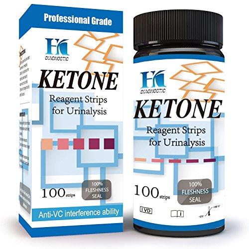 HK Ketone Test Strips Ketosis
