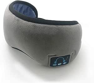 Andoer Fone de Ouvido Estéreo Sem Fio com Máscara para Dormir