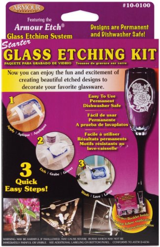 Armour Etch Glass Etching Starter Kit