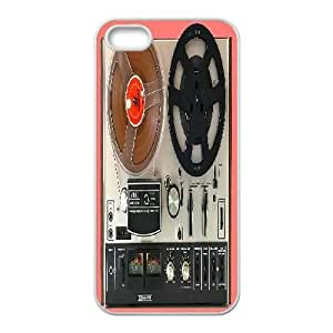 Diy Retro Old Player Tape Cell Phone Case, DIY Durable Cover Case for iPhone 5/5G/5S Retro Old Player Tape