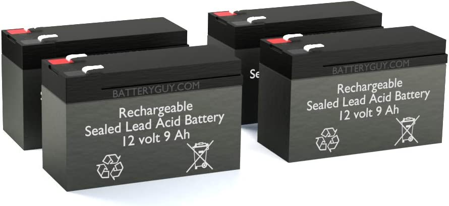 Rechargeable, high Rate APC Dell Smart-UPS 1500VA USB RM DLA1500RM2U Replacement Battery Pack