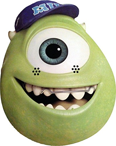 Monsters Inc Hard Hat (Monsters University - Mike - Card Face Mask - Licensed Product)