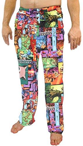 Galaxy Pajama Pants (Marvel Comics Guardians of the Galaxy All Over Print Sleep Lounge Pants - Large)
