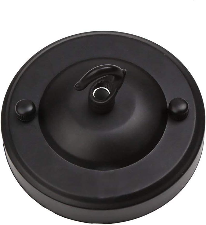 Rosone gancio del soffitto piatto con un gancio succhiare disco ferro piatto Gfeu vintage fai da te di lampada a base