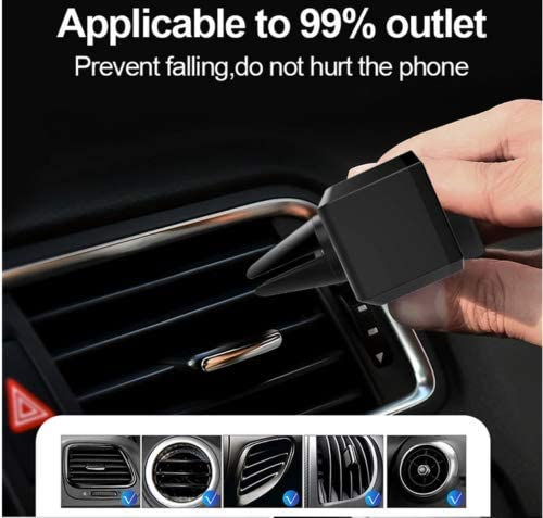 7 7 GT POWER Universal Smartphone Car Air Vent Mount Holder Cradle Compatible with iPhone Xs XS Max XR X 8 8 SE 6s 6 6 5s 4 for Samsung Galaxy S10 S9 S8 S7 S6 S5 S4 LG Nexus Nokia HTC One Plus