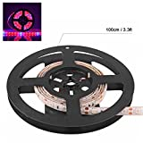 Led Grow Strip Light Sunsbell Led Grow Light Bar DC 12V 60 leds/m Red and Blue 5:1- Perfect for Greenhouse Hydroponics Indoor Plant Flowering Growing (1M/3.28ft)