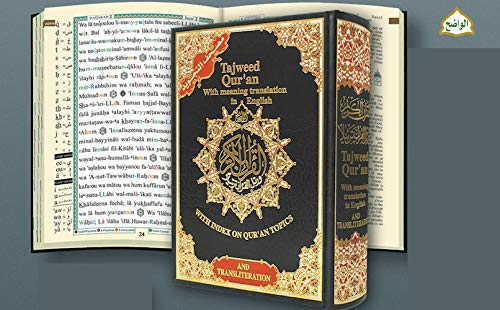 Tajweed Qur'an (Whole Quran, With Meaning Translation and Transliteration in English) (Arabic and English) - Assorted colors (Best Public Speakers In History)