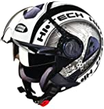 Studds Downtown D2 Open Face Helmet (Black N4, XL)