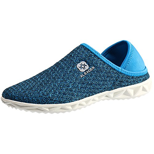 ALEADER Sport Womens Hydro Slip-On Mule Sneaker Blue 8.5 D(M) US