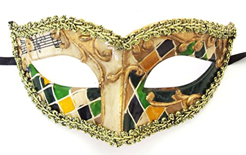 Teen Party Mask #4 Halloween Masquerade Costume Party New Orleans Mardi (New Orleans Mardi Gras Costumes)