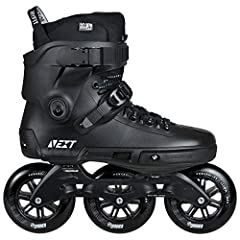 You can't go wrong with black. Timeless style. The Powerslide NEXT is the first of it's kind - the first TRINITY 3-point mounting hardshell Inline skate in the world. The skate is loaded with unique features that unleash it's full potential. ...