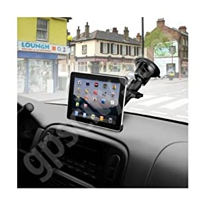 RAM Mounting Systems RAM-B-166-AP8U Ram Mount Suction Cup Base for the Apple iPad Car Windshield Mount from National Products Inc.