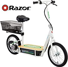 EcoSmart Metro Electric Scooter: The Advanced Street Systems by Razor. Designed for true neighborhood transportation. Clean! Green! No gasoline needed! The EcoSmart Metro Electric Scooter is fun, and most of all affordable. Reduces pollution ...