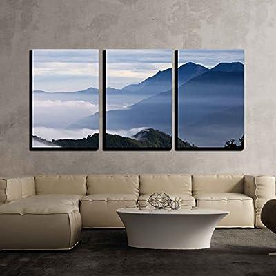Taiwan Tatachia Beautiful Mountains x3 Panels