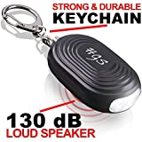 Holtzman's Gorilla Survival Personal Alarm : Emergency Keychain for Safety & Security with ULTRABRIGHT LED Flashlight 130dB