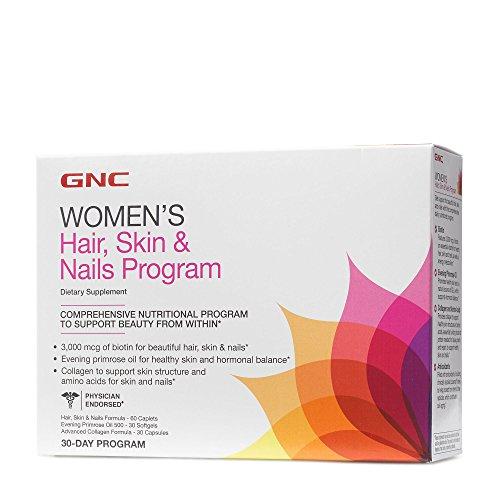 GNC Womens Hair Skin Nails Program 30 Day Program