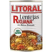 LITORAL Lentejas Riojana - Plato Preparado de Lentejas
