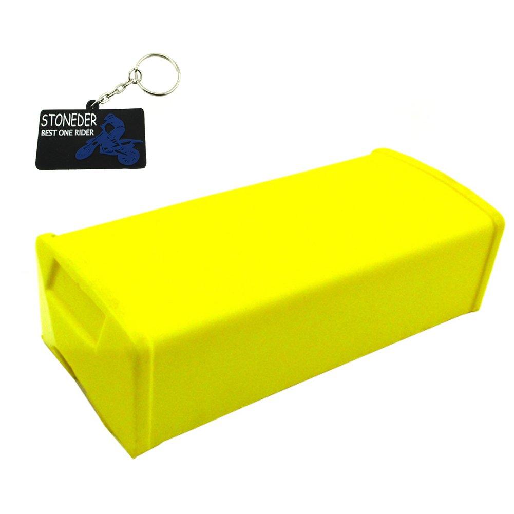 Stoneder Margarine Square Cross bar Pad per 1 1/8' manubrio Pit Dirt bike motocross