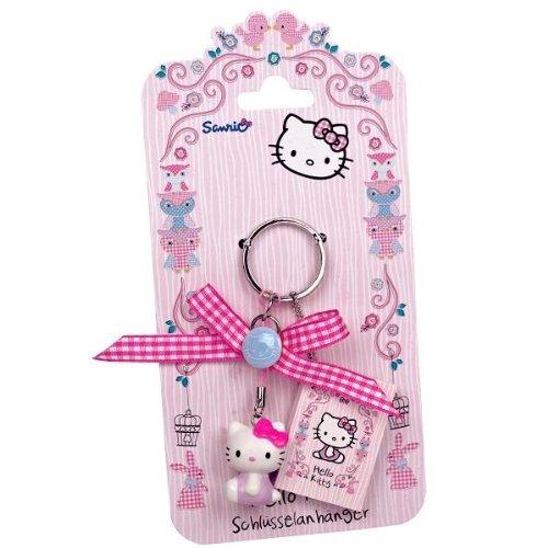 240840 Hello Kitty Woodland Schlüsselanhänger, Schlüssel Anhänger, Geschenkidee