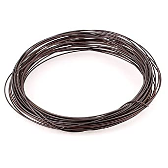 eDealMax 1, 8 mm Diámetro 13 Wire Gauge AWG 25meter Rollo Calentador Calefacción: Amazon.com: Industrial & Scientific