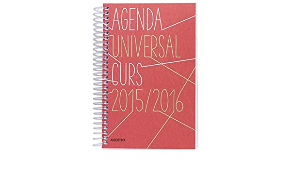 Ingraf A141 - Agenda universal 12x18.5 (DP, catalán): Amazon ...
