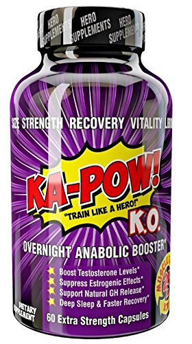KA-POW! K.O. #1Overnight Testosterone Bo - Sleep Booster Shopping Results