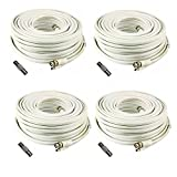 (4) 200 Foot Security Camera Cable for Samsung SDS-P5082, SDS-P4082