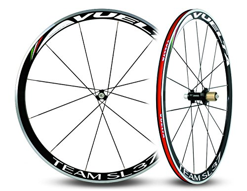 (Vuelta Team SL37 Hand Built Alloy Straight Pull Clincher 11sp Road Wheelset)