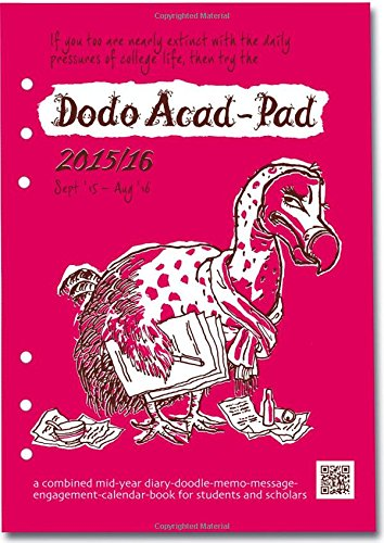 Dodo Acad-Pad Filofax-Compatible A5 Diary Refill 2015-2016 Week to View Academic Mid Year Diary: A Combined Mid-Year for Students, Teachers and Scholars (Refill 2015 Planner Personal)